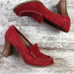 Two Lips Leather Tricilla Heels